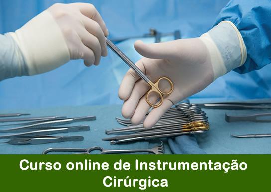 Curso de Instrumentação Cirúrgica Módulo Teórico – modalidade EaD